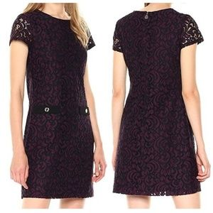 Tommy Hilfiger Orchid Lace 2-Pocket Dress Size 12